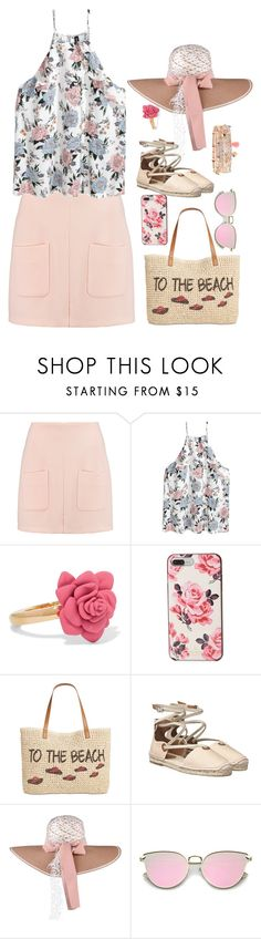 """""""to the beach"""" by dwinda ❤ liked on Polyvore featuring See by Chloé, Marc by Marc Jacobs, Kate Spade, Style & Co. and Accessorize"""