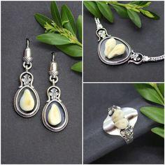 Amelie, Necklaces, Hunting, Handmade, Earrings