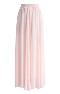 Fairy Pink Chiffon Maxi Skirt - Maxi Skirt - Trend and Style - Retro, Indie and Unique Fashion