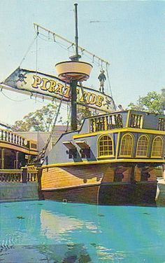 The old Pirate Ride is now gone at Cedar Point. Memories!