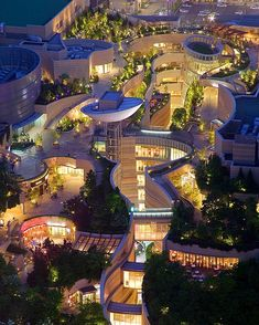 Namba Parks by The Jerde Partnership. Location: #Osaka #Japan #architectdesigne by architectdesigne