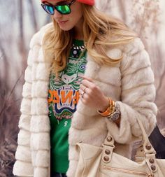 TOP: http://www.glamzelle.com/products/tiger-head-sweater-green