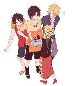 One Piece, ASL, Makino
