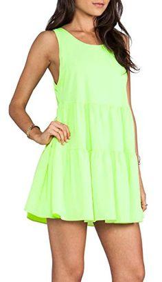 Lovers + Friends Angel Tiered Mini Dress Citron Lime Green X-small Lovers+Friends http://www.amazon.com/dp/B01AB4Y8RA/ref=cm_sw_r_pi_dp_KgEMwb0NBRKB8