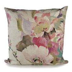 Pink Bloom Cushion | Dunelm