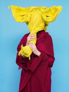 'super silly towel-based series' Bela Borsodi