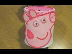 ▶ Hucha de Peppa pig paso a paso - YouTube