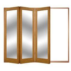 Image of Folding Doors, IFS-6AST2F, Open Left or Right, Astbury 3 Door Set, Frame & Glass