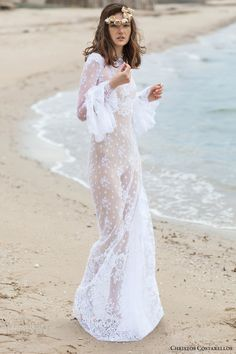Christos Costarellos 2016 Wedding Dresses | Wedding Inspirasi // Pinned by Dauphine Magazine x Castlefield - Curated by Castlefield Bridal & Branding Atelier and delivering the ultimate experience for the haute couture connoisseur! Visit www.dauphinemagazine.com, @dauphinemagazine on Instagram, and @dauphinemag on Pinterest • Visit Castlefield: www.castlefield.co and @ castlefieldco on Instagram / Luxury, fashion, weddings, bridal style, décor, travel, art, design, jewelry, photography…