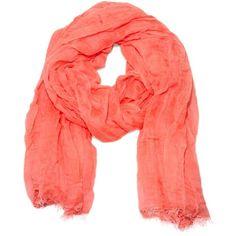 Tobia modal/silke tørklæde ($235) ❤ liked on Polyvore