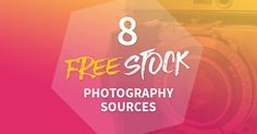 Stock photos suck, but there are hundreds of websites that share high quality free stock photos that you can use in personal and commercial projects. This list compiles the 8 best of the best!