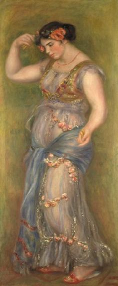 Pierre-Auguste Renoir - Dancing Girl with Castanets
