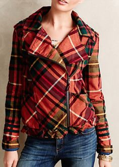 cute plaid bomber jacket http://rstyle.me/n/s5s96r9te
