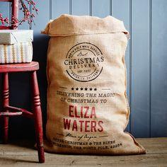 The Gilbert Personalised Christmas Sack | The Handmade Christmas Co.