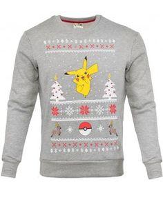 Pokemon Pikachu Unisex Christmas Sweater