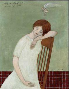 A Brian Kershisnik (1962) painting.