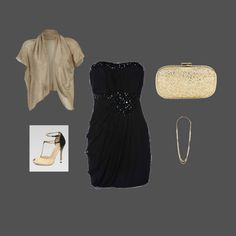 night time outfit, created by manders01 on Polyvore
