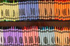 Sorting Crayons