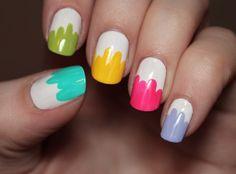 paint-dipped nails | psychosandra
