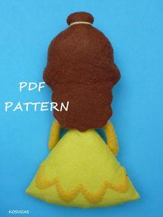 Patrón de costura de PDF para hacer sentir la belleza. por Kosucas