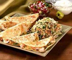 Shrimp and habanero cheddar quesadillas recipe: easy appetizer or entree - National gourmet food | Examiner.com