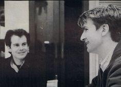 Paul Hester & Neil Finn
