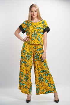 Vellamo Shirt - Yellow :: Vuurran.fi Seventh Wave, Black Fabric, Fabric Patterns, Woven Fabric, Yellow, Shirts, Collection, Fashion, Poplin