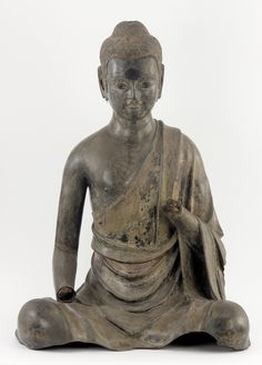 Historical Buddha China, Sui dynasty or early Tang dynasty, late 6th-early 7th century Hemp cloth, lacquer, wood, metal wire, and glass with traces of pigment and gilding H: 99.5 W: 72.5 D: 56.7 cm Freer, F1944.46 Sui dynasty or early Tang dynasty Hemp cloth, lacquer, wood, metal wire, and glass with traces of pigment and gilding H: 99.5 W: 72.5 D: 56.7 cm China F1944.46