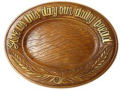 Vintage Give Us Our Daily Bread Plate Multiproducts, Inc. http://www.amazon.com/dp/B00OGVZNVU/ref=cm_sw_r_pi_dp_pzRZub1RTSMM1