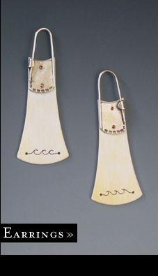 Love these faux bone earrings!