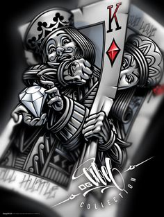 Playing card tattoos, playing cards art, lowrider art, lowrider tattoo, o. Lowrider Art, Tatouage Lowrider, Lowrider Tattoo, Og Abel Art, Playing Card Tattoos, Playing Cards, Wallpaper Flower, Aztecas Art, Art Carte