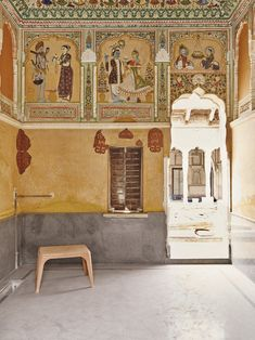 Not far from the riches of Jaipur sits Shekhawati, an open-air museum in the desert of some of the country's most beautiful frescoes.