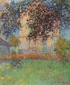 Claude Oscar Monet's House in Argenteuil , 1876 Impressionism Camille Pissarro, Pierre Auguste Renoir, Pierre Bonnard, Monet Paintings, Impressionist Paintings, Landscape Paintings, Abstract Paintings, Painting Art, Claude Monet