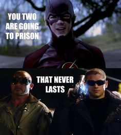 Image via: The Flash and Arrow Memes (On Facebook)