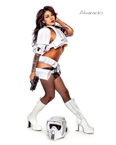 Who doesn't love a Biker Scout...??