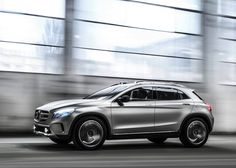 Mercedes-Benz Offer A Closer Look at the Concept GLA