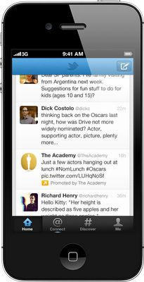 Twitter Promoted Tweets Coming to iPhone and Android Mobile Apps