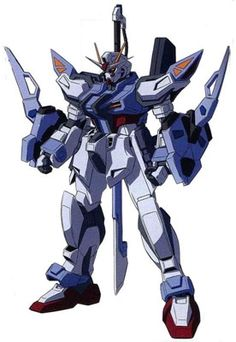 The Sword Strike E is a close combat Mobile Suit in the Cosmic Era timeline.