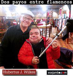 esejambo acudió a la presentación de 'Un payo entre flamencos'. Libro escrito por Pablo San Nicasio y en las Hubertus J. Wilkes, un holandés enamorado del arte 'jondo' nos cuenta e primera persona sus vivencias  en la España de los 70' , cuando decide ser 'un flamenco entre los flamencos'.