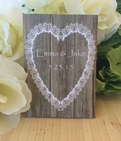 Rustic Wedding Favors Rustic Wedding Decor Wood by FavorUniverse