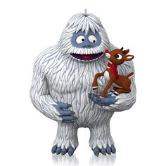Hallmark Rudolph the Red-Nosed Reindeer and the Abominable Snow Monster of the North Misfit Friends Ornament