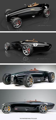 A very pure concept design, but I'm not quite sure where it's going - Bentley Barnato Roadster....K