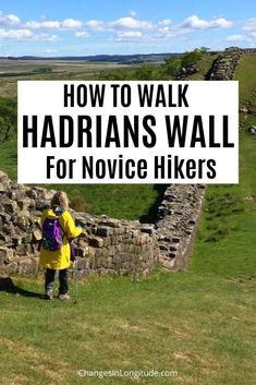 What it's like to walk the Hadrian's Wall Path --even if you're a hiking novice. We stayed at B&Bs along the way, and left plenty of time to explore the sights. | Visit Britain | Hadrians Wall | Hadrians Wall Path | Hadrians Wall Country | Cumbria | Visit Northumberland | Roman Ruins