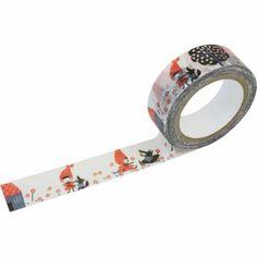 Washi Tape, SHINZI KATOH // Red hood ribbon