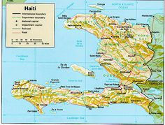 """Haiti, an Indian word meaning """"mountains,"""" is made up of extremely mountainous country of which only 20 percent of the territory lies below ..."""