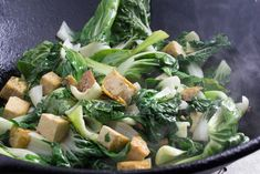 Monash University Certified Low FODMAP Tofu with Baby Bok Choy and Oyster Sauce