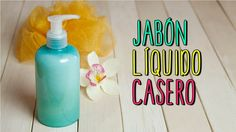 Cómo hacer en casa tu propio jabón líquido para las manos Would you like to prepare your own liquid hand soap? Do not miss the two simple formulas that we share in this article. Liquid Hand Soap, Face Treatment, Body Hacks, How To Make Homemade, Natural Cosmetics, Natural Oils, Body Wash, Deodorant, Biodegradable Products