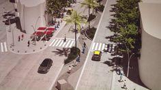 Plan de remodelación del microcentro con la ampliación de veredas en calle Gral Paz
