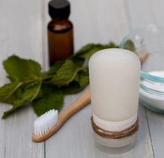 Homemade Baking Soda Toothpaste