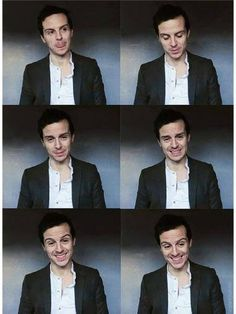 Moriarty..Have I ever told you how much I love Andrew Scott?